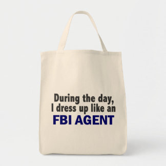 FBI Agent During The Day Tote Bags