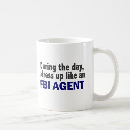 FBI Agent During The Day Coffee Mug