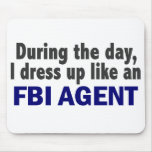 FBI Agent During The Day Mouse Pad
