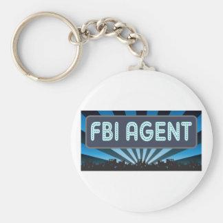 FBI Agent Marquee Keychains