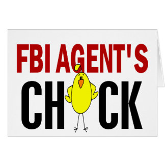FBI Agent's Chick Greeting Cards