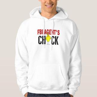FBI Agent's Chick Hooded Sweatshirts