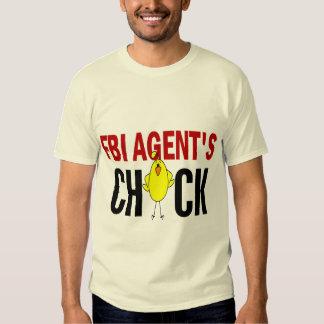 FBI Agent's Chick T-shirt