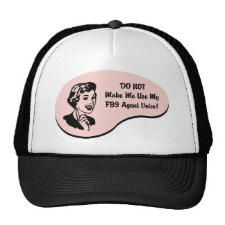 FBI Agent Voice Trucker Hat