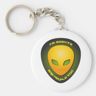 FBI Agents Are People Too Key Chain