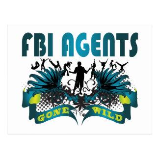 FBI Agents Gone Wild Postcard