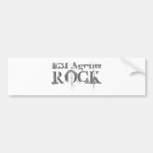 FBI Agents Rock Bumper Stickers