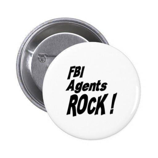 FBI Agents Rock! Button