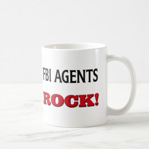 Fbi Agents Rock Classic White Coffee Mug