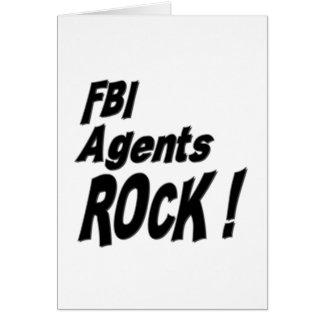 FBI Agents Rock! Greeting Card