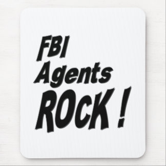 FBI Agents Rock! Mousepad