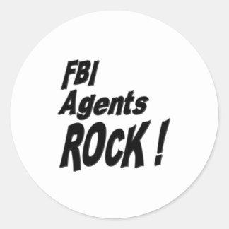 FBI Agents Rock! Sticker