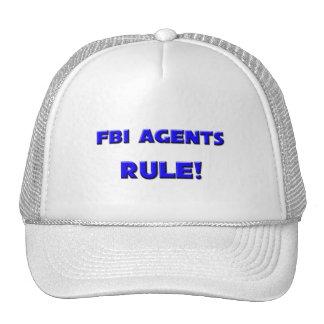 Fbi Agents Rule! Trucker Hats