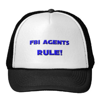 Fbi Agents Rule! Mesh Hat