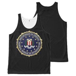 FBI All-Over PRINT TANK TOP