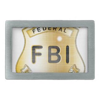 FBI Badge Belt Buckle