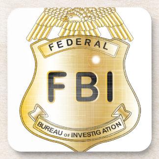 FBI Badge Beverage Coaster
