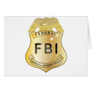 FBI Badge Card