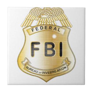 FBI Badge Tile
