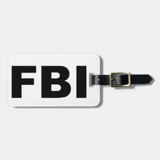 FBI BAG TAG