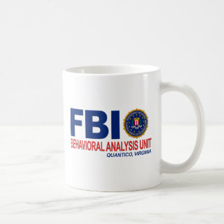 FBI BAU Criminal Classic White Coffee Mug