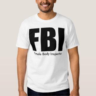 FBI - camiseta adaptable Playera