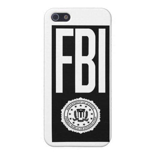 FBI case iPhone 5 Cases