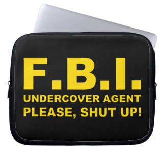 FBI COMPUTER SLEEVE