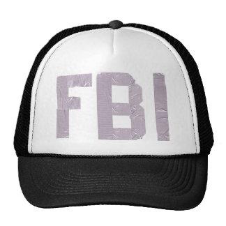 FBI con la cinta aislante Gorros Bordados