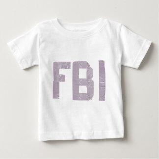 FBI con la cinta aislante Playera De Bebé