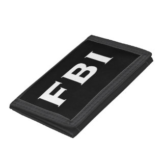 FBI Cool Trifold Wallet