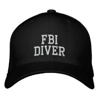 FBI DIVER EMBROIDERED BASEBALL CAP