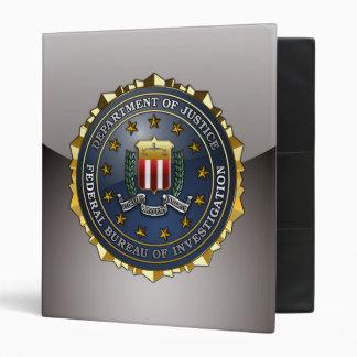 FBI Emblem 3 Ring Binder