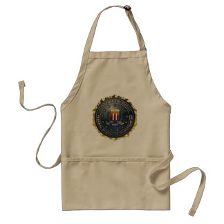 FBI Emblem Adult Apron
