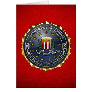 FBI Emblem Cards