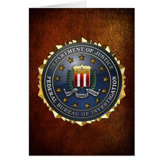 FBI Emblem Card