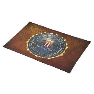 FBI Emblem Cloth Placemat