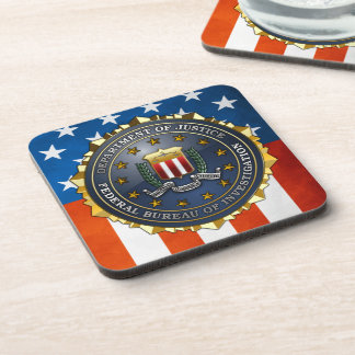 FBI Emblem Coaster