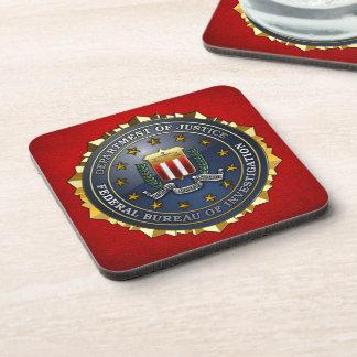 FBI Emblem Drink Coaster
