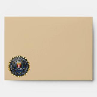 FBI Emblem Envelopes