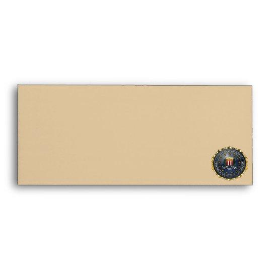 FBI Emblem Envelope