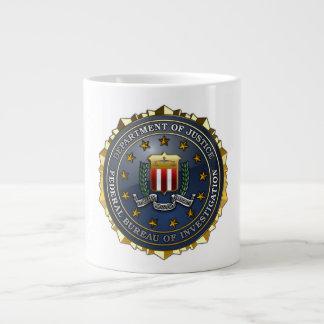 FBI Emblem Giant Coffee Mug