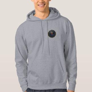 FBI Emblem Hooded Sweatshirt