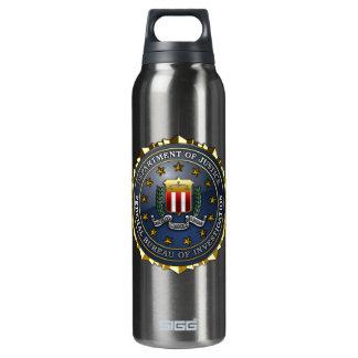 FBI Emblem Insulated Water Bottle