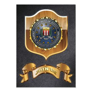FBI Emblem Custom Invites