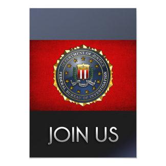 FBI Emblem Invitations