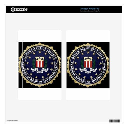 FBI Emblem Kindle Fire Skin