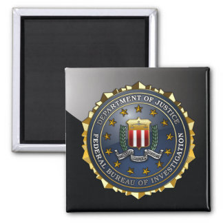 FBI Emblem Fridge Magnet