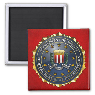 FBI Emblem Refrigerator Magnet