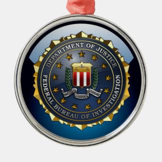 FBI Emblem Metal Ornament